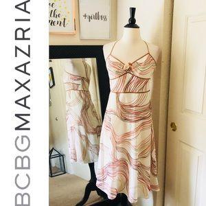 BCBGMAXAZRIA Summer Print Dress Size 10